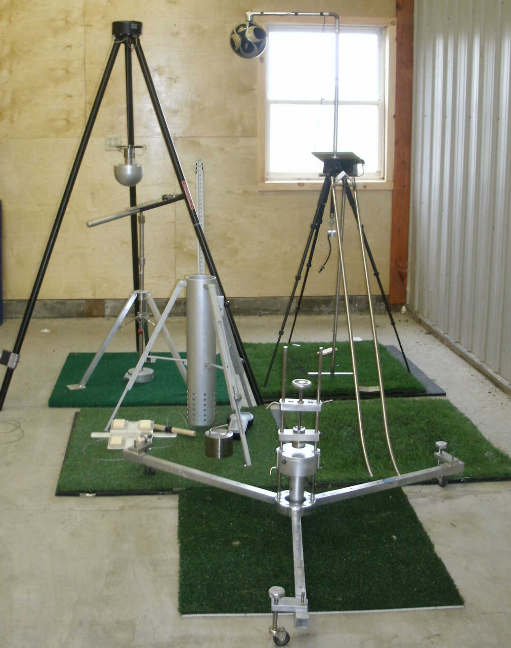 synthetic turf testing equipment