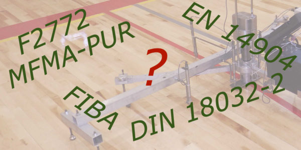 which indoor sport surface measurement standard is the best