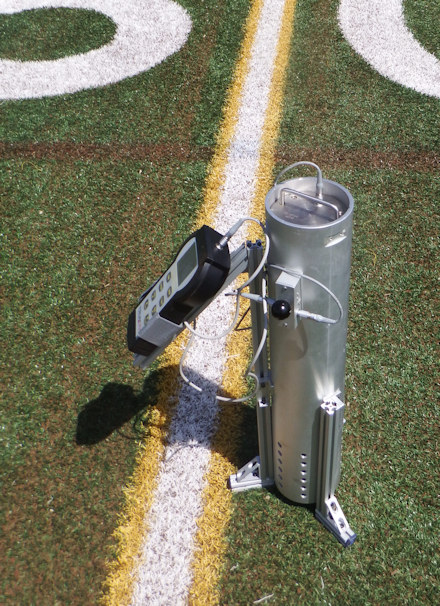 Gmax Testing - Synthetic Turf Field